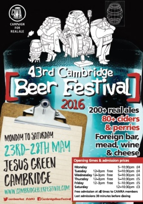 cam beer fest poster